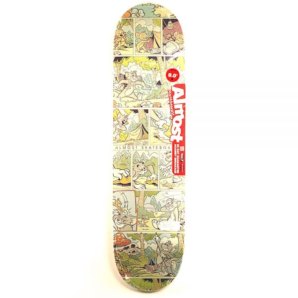 Almost Rodney Mullen Comic Strip Deck 8.00