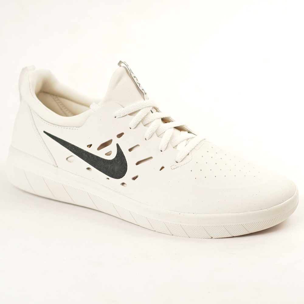 Nike SB Nyjah Huston Free skate shoe in summit white available to order online from Forty two skate shop Nottingham with free uk postage.