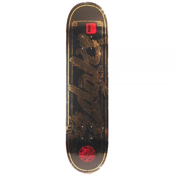 DGK Dragon Deck Black 8.06