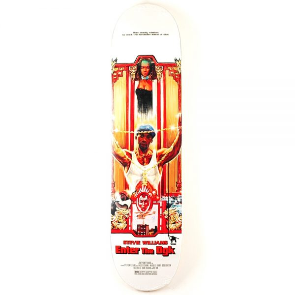 DGK Kung Fu Williams Deck 8.06