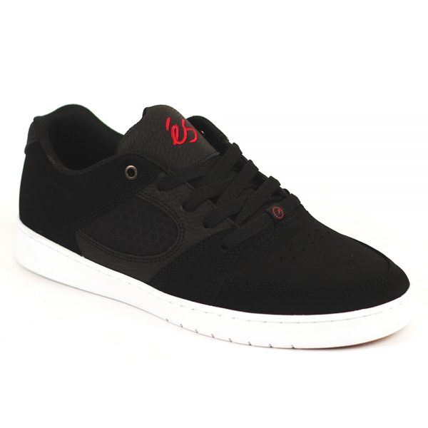 Es Accel Slim Black-White-Red Single