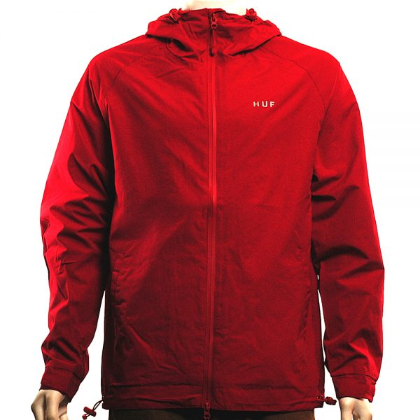HUF Standard Shell Jacket Red Main