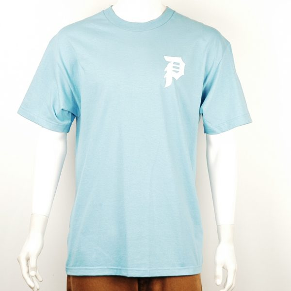 Primitive Dirty P Core Tee Carolina Blue