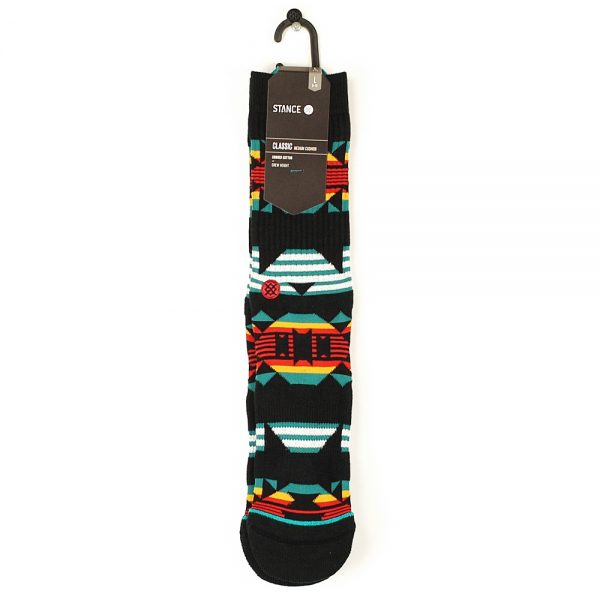 Stance Foundation Cedergreen Socks Black Large