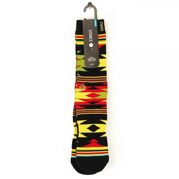 Stance Side Step Viarta Socks Rasta