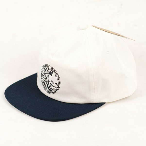 Vans x Spitfire Shallow Unconstructed Cap White:Dress Blue