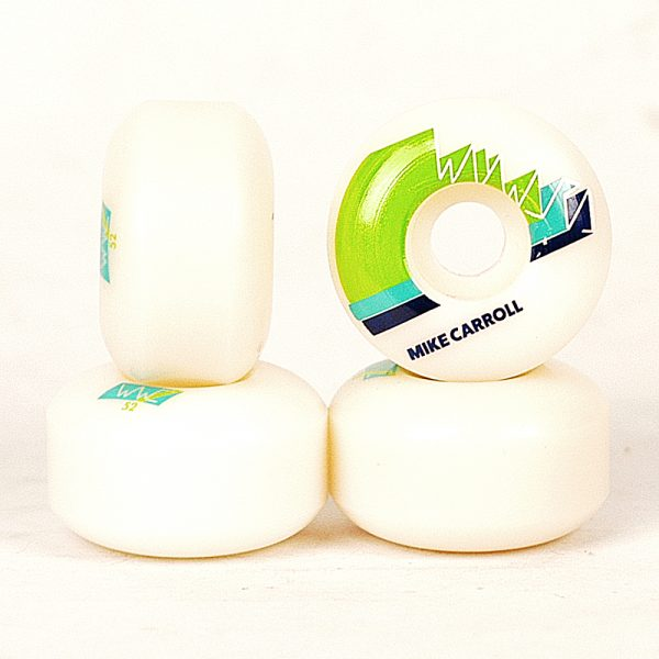 Wayward Mike Carrol Finish Line Wheels Teal 101a 52mm