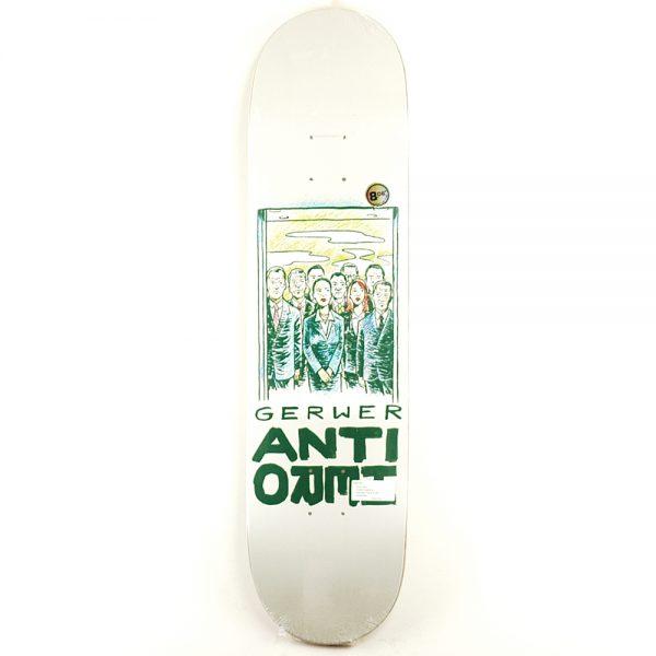 Anti Hero Overcrowding Gerwer Deck 8.06