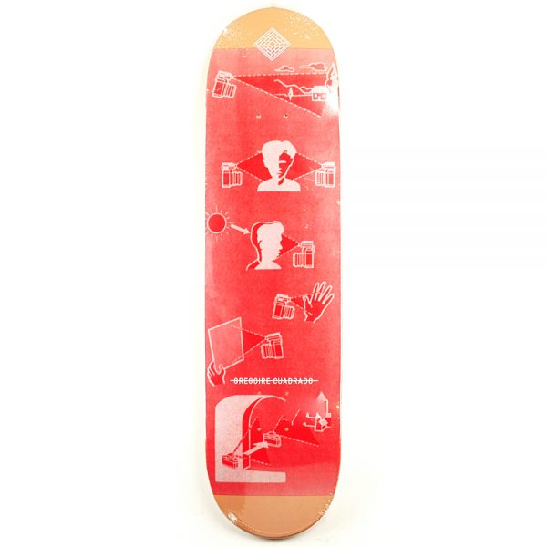 National Skate Co Cuadrado Photo Club Deck 8.25