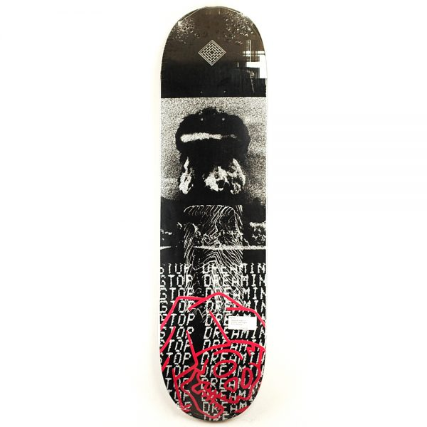 National Skate Co Dooms Deck Black 8.25