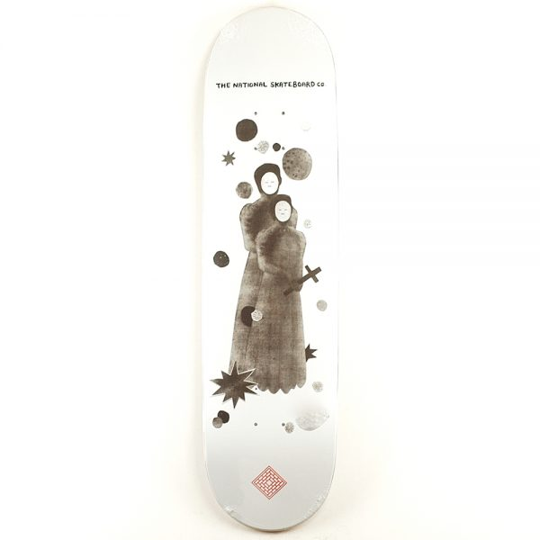 National Skate Co Pray Deck White 8.125