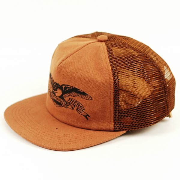 Anti Hero Basic Eagle Trucker Cap Brown