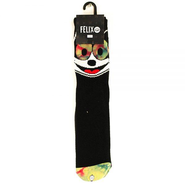 HUF Felix Hypnotize Crew Socks Black