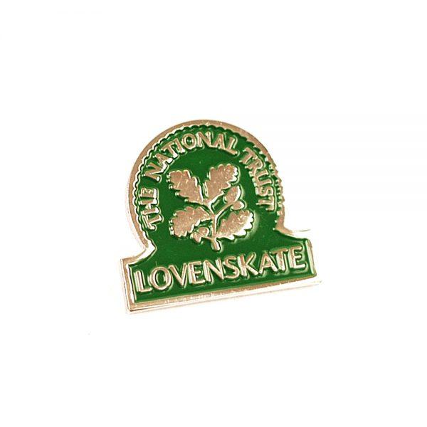 Lovenskate Skateboard Herritage Pin Badge