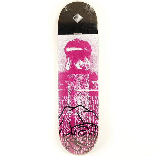 National Skate Co Day Deck Purple 8.50