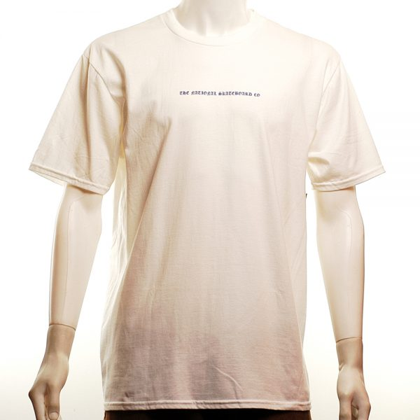 National Skate Co Doomsday Tee White Front