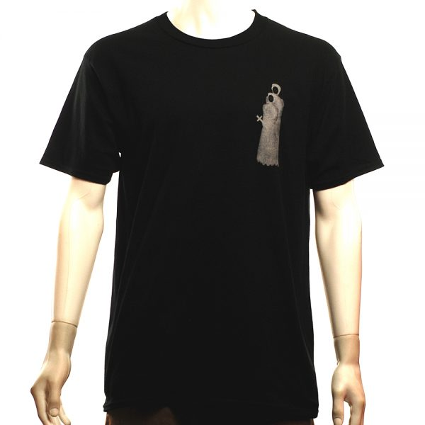 National Skate Co Pray Tee Black Front