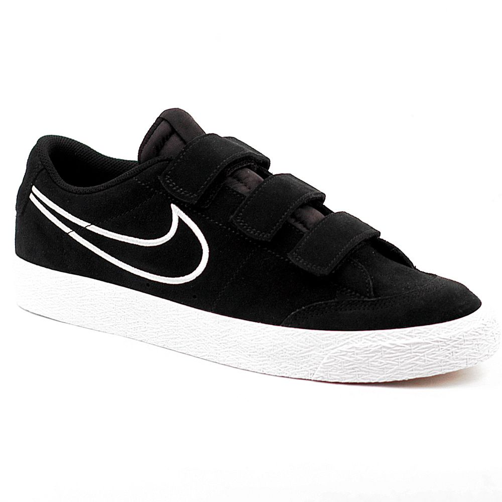 Nike SB Blazer AC XT Skate Shoe in Black suede with white sole UK