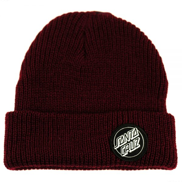 Santa Cruz Outline Dot Beanie Blood