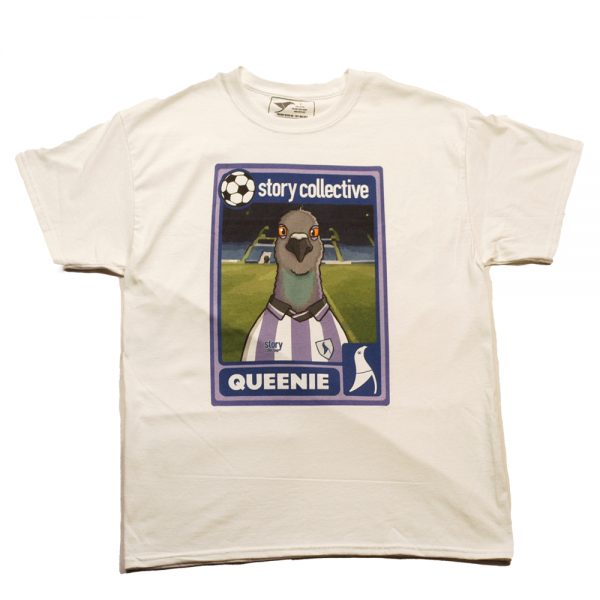 Story Queenie 8 Tee White Front
