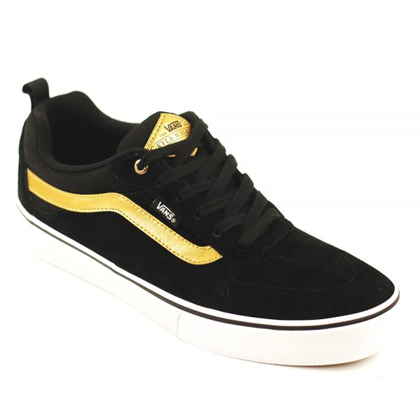Vans Kyle Walker Pro Black:Metallic Gold:White Main