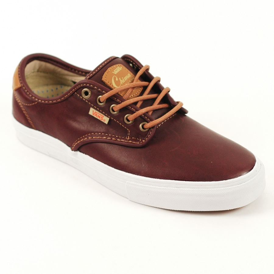 Vans Skate Shoes Vans Chima Ferguson Pro Mahogany Leather