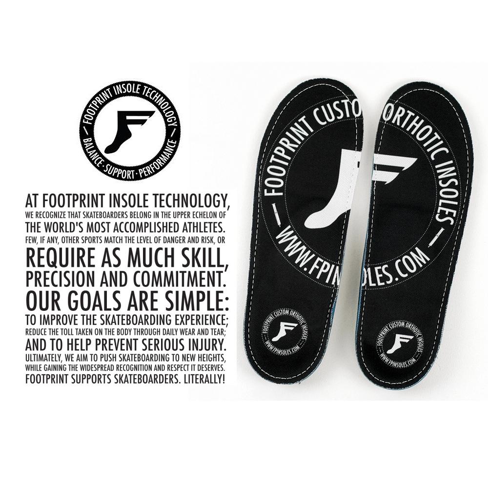 Footprint Game Changer Skateboarding Insoles UK