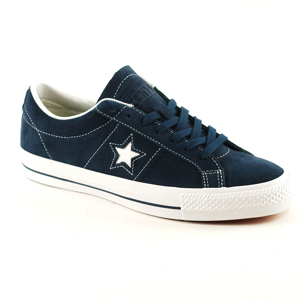 Converse One Star Ox Navy Suede UK