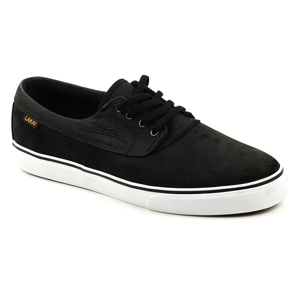 Lakai Camby Black Oiled Suede UK Skate Shoes