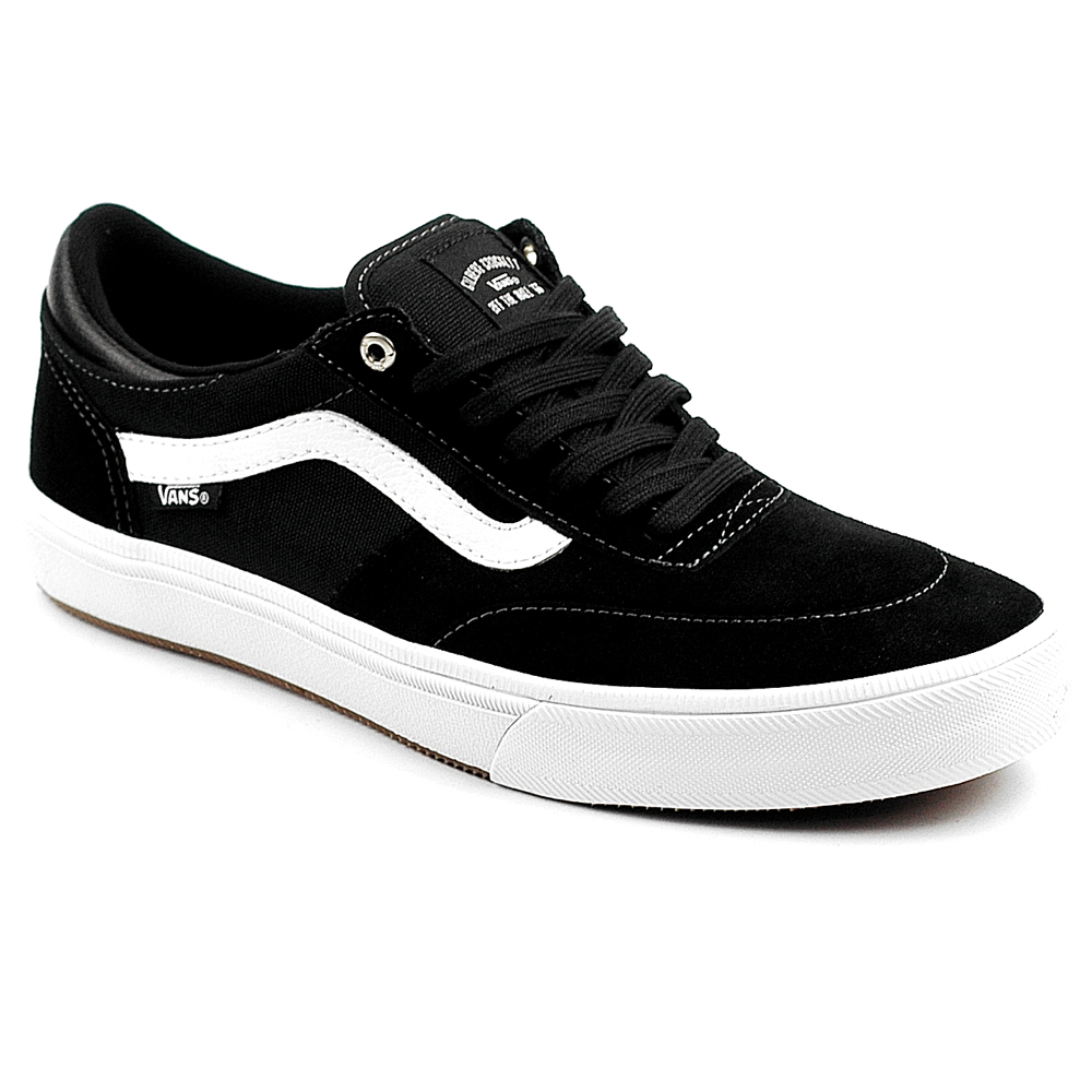 Vans gilbert crockett 2 black white suede uk