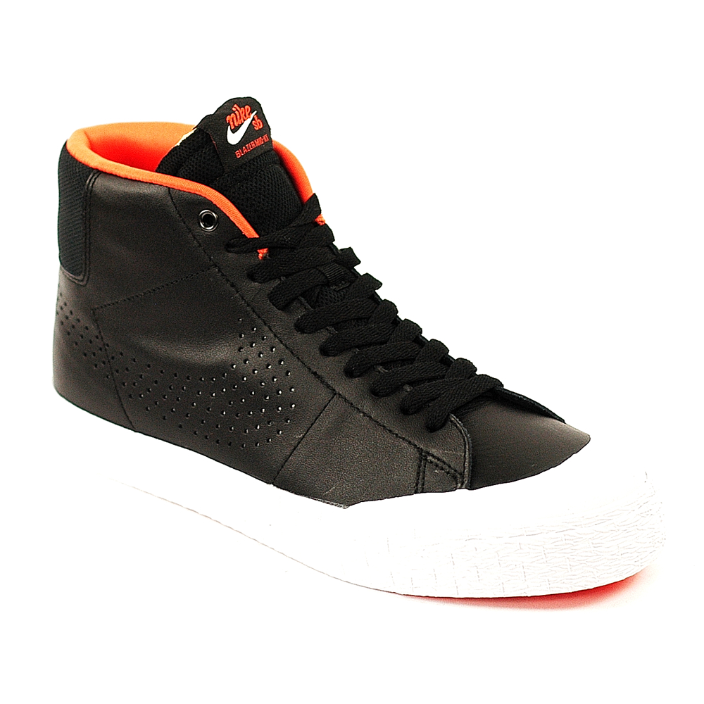 527873852c61 Nike SB Blazer Mid XT Black-Silver-White - Forty Two Skateboard Shop