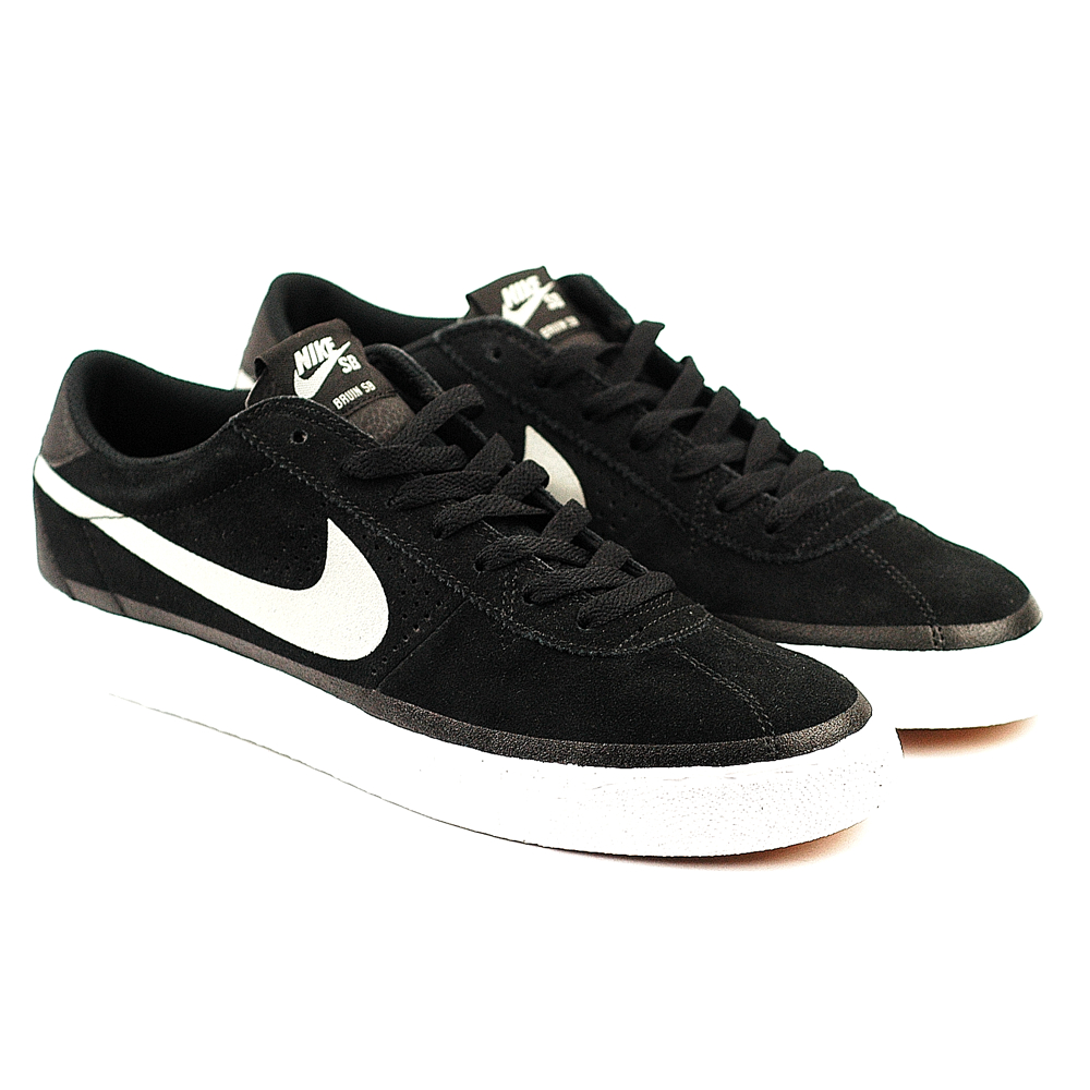 buying now low cost classic fit Nike SB Bruin Premium Black-Basegrey