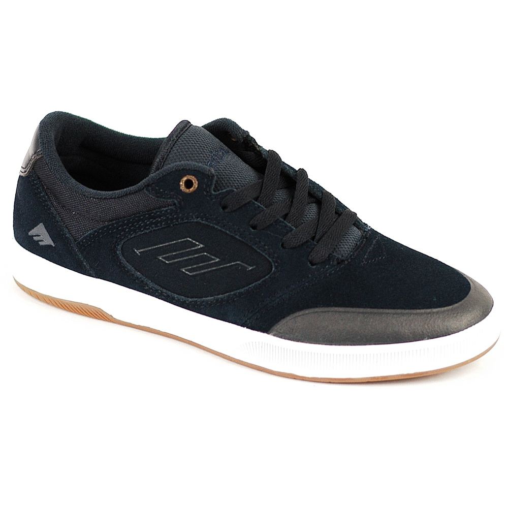 America Skate Shoes Uk America Dissent In Navy White Suede