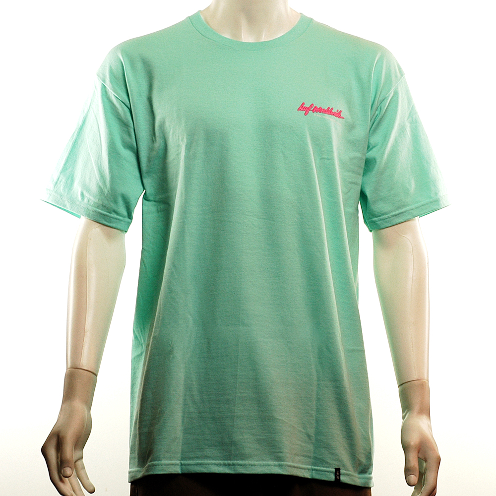 f0c193290f6 HUF Classic H XXX Tee Celadon - Forty Two Skateboard Shop