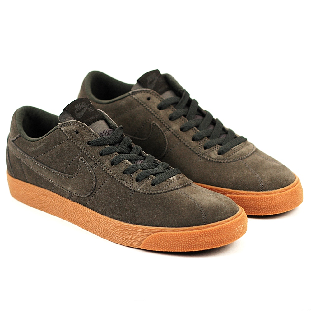 cd04246a50a2 Nike SB Bruin Premium Anthracite-Gum - Forty Two Skateboard Shop