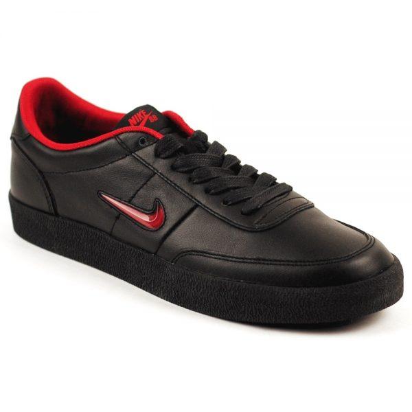 Nike Skateboarding Hockey Killshot skate shoe black red UK