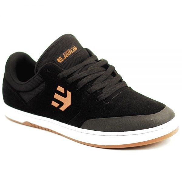Etnies Uk Marana in Black Tan suede