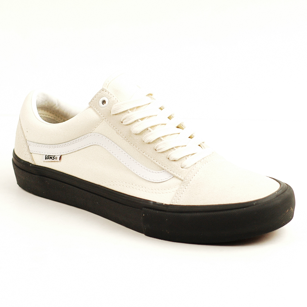 Vans Old Skool Pro Black White White
