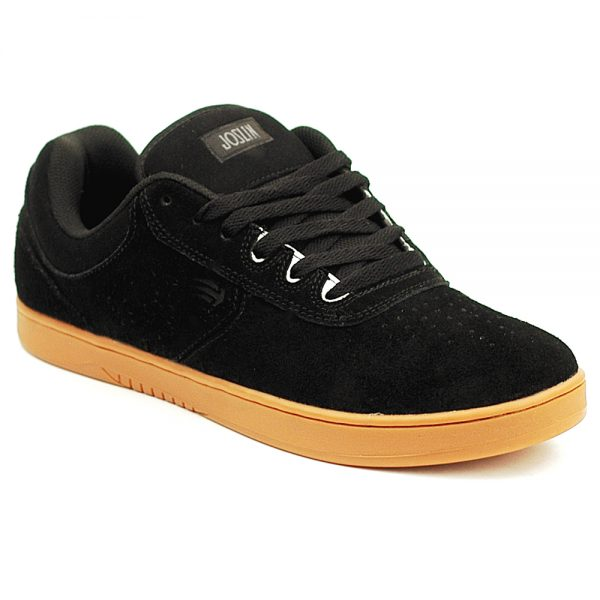 enties chris Joslin black and gum pro skate shoe uk