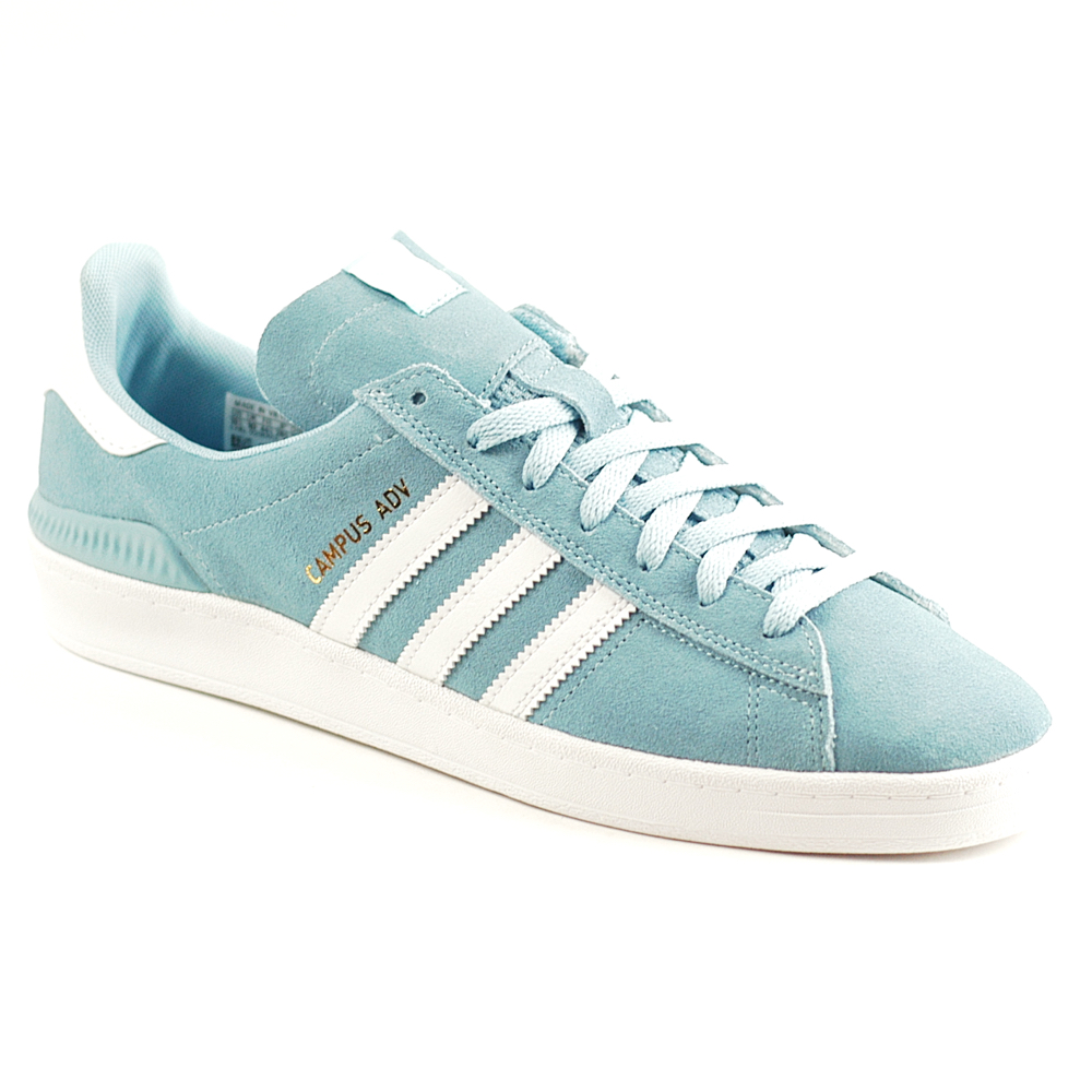 5a60799c049aff Adidas Campus ADV Blue-White-White - Forty Two Skateboard Shop