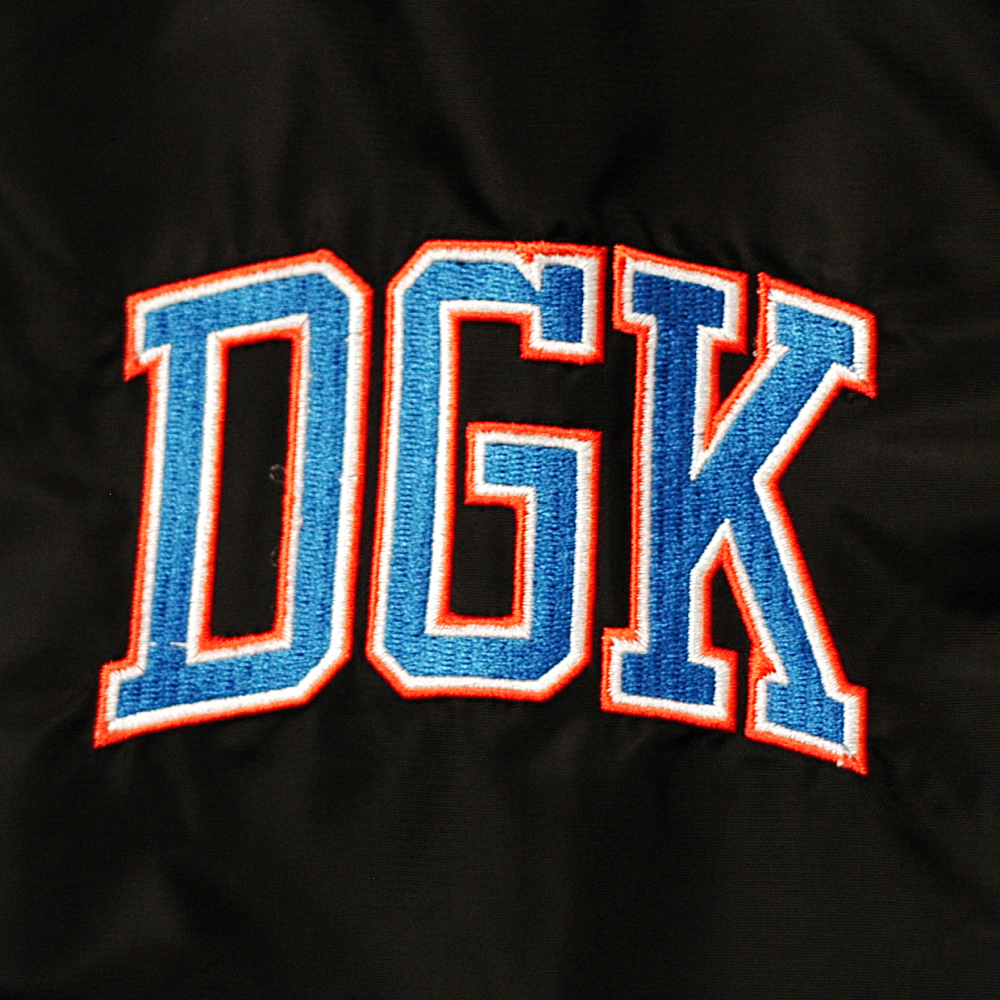 Dgk Game Killer Jacket Black