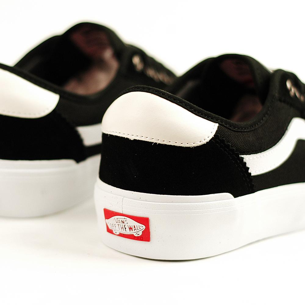 91490714bbeec1 Vans Chima Ferguson Pro 2 Black-White - Forty Two Skateboard Shop