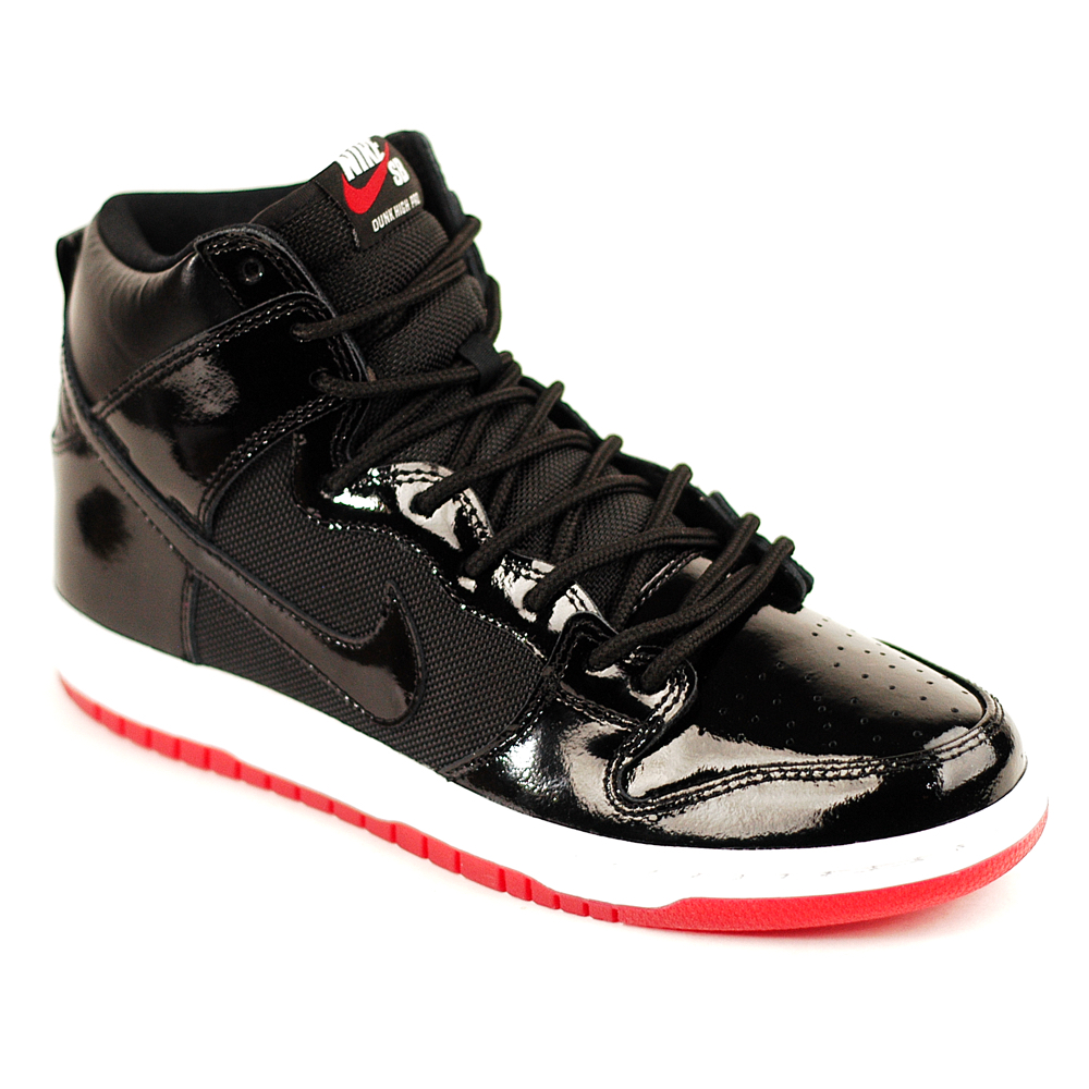 low priced c8804 b3868 Nike SB Dunk High Pro TR QS Black-White-Red