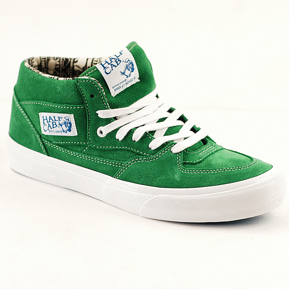 f3c5a1f427e082 Vans Half Cab Pro Ray Barbee-Emerald Green - Forty Two Skateboard Shop