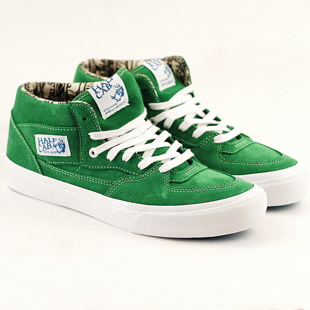 f865b01a2a4 Vans Half Cab Pro Ray Barbee-Emerald Green - Forty Two Skateboard Shop