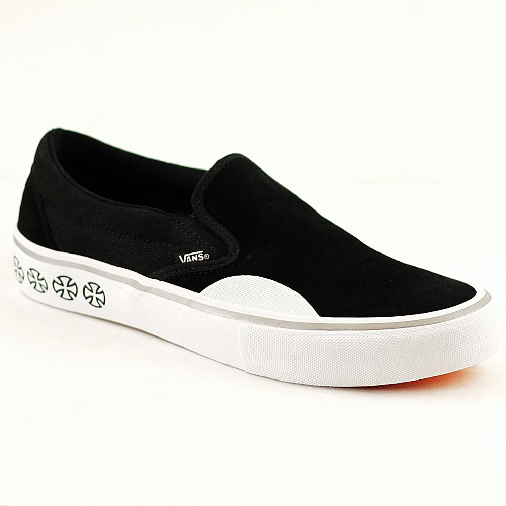 0cd0f7b26f48bb Vans Slip On Pro Independent Black-White - Forty Two Skateboard Shop