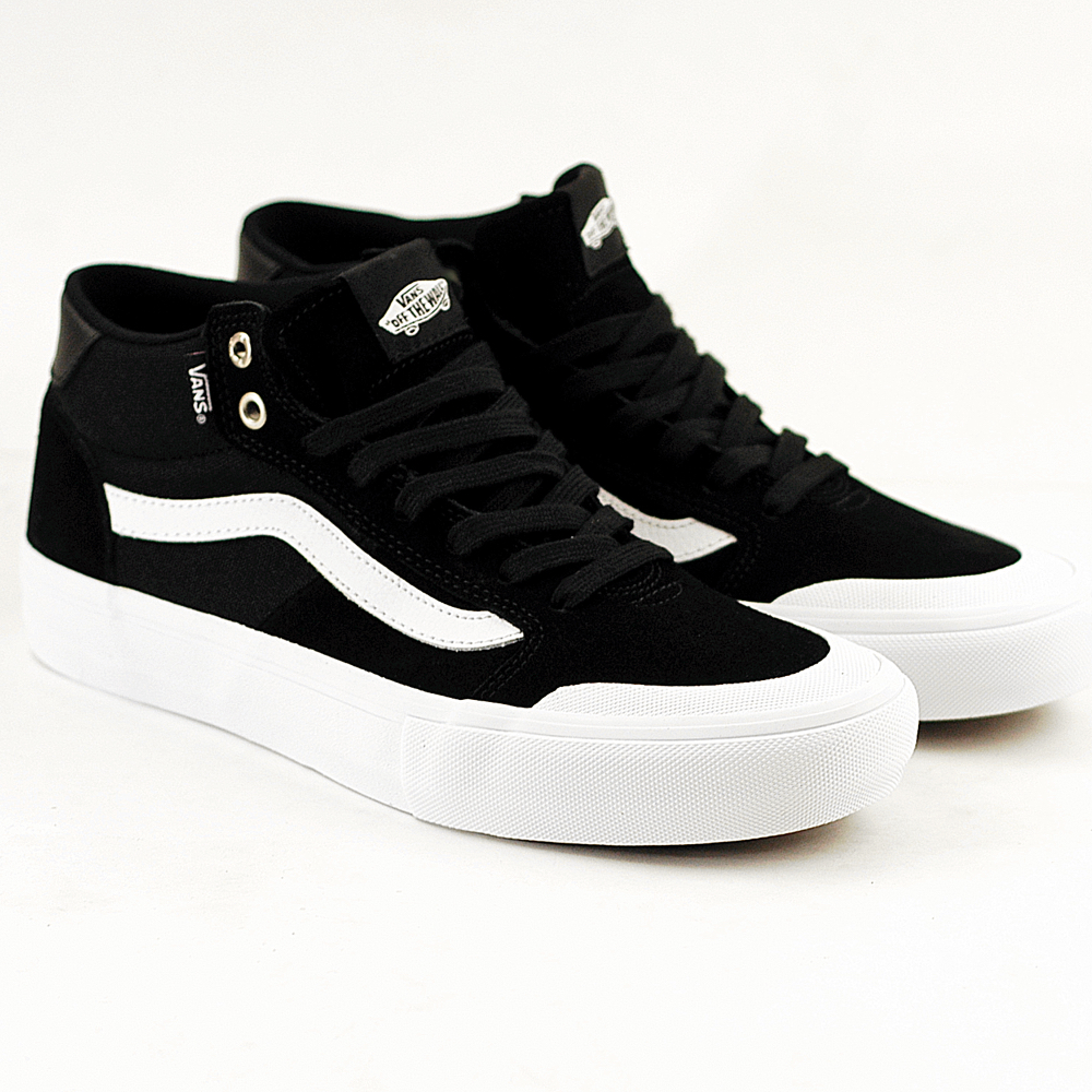 VANS vans Pross Kate STYLE 112 PRO [BLACKWHITE VN0A347XB8C] style 112 pro black white black and white men suede sneakers OLD SKOOL old school