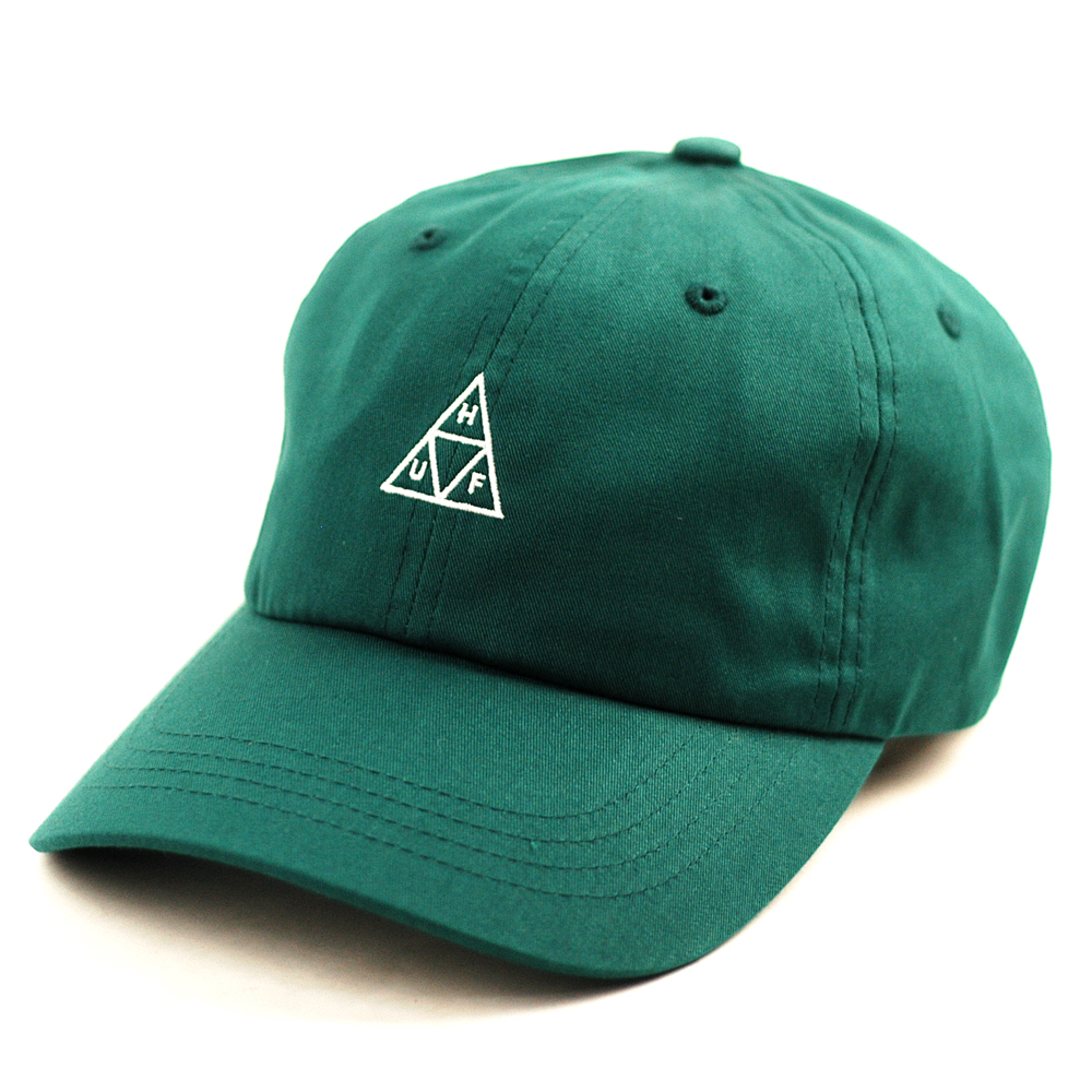 06e72315aad HUF TT Curved Visor Cap Jade - Forty Two Skateboard Shop