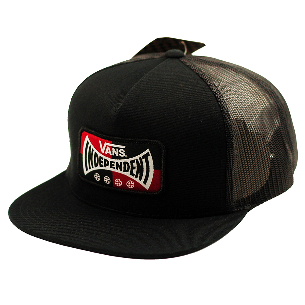 7363cc30dc7 Vans x Independent Snapback Black - Forty Two Skateboard Shop