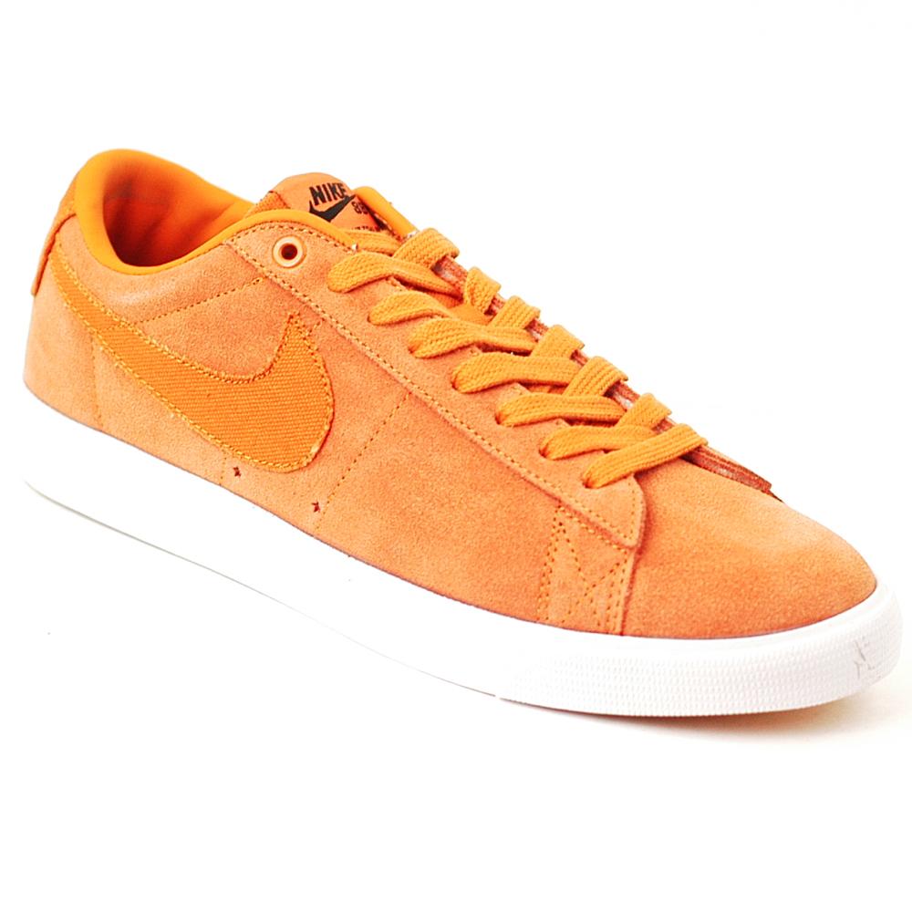 nike blazer low orange